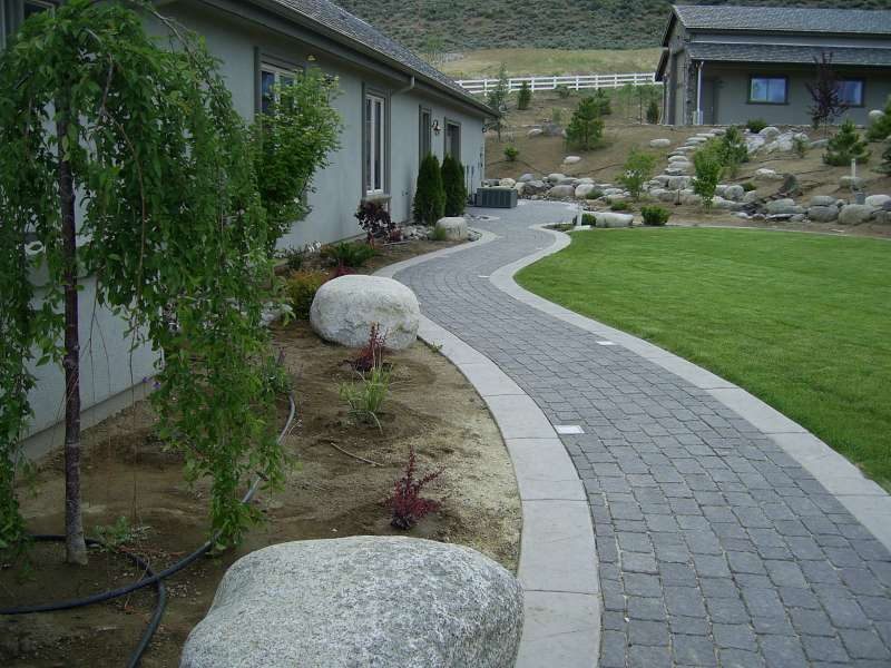 Landscaping Pathways garden and landscape pathways – pavers | steve snedeker's
