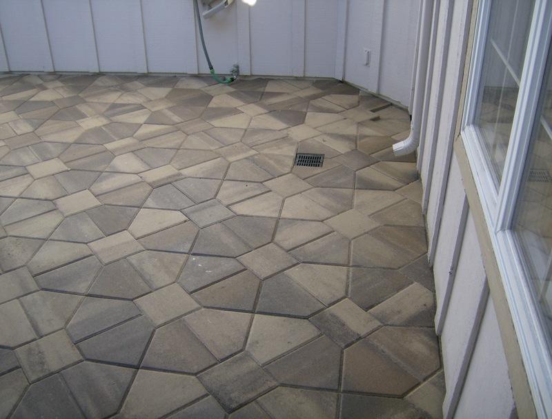 Rubber Patio Tiles Concrete 25 Best Patio Tiles Ideas