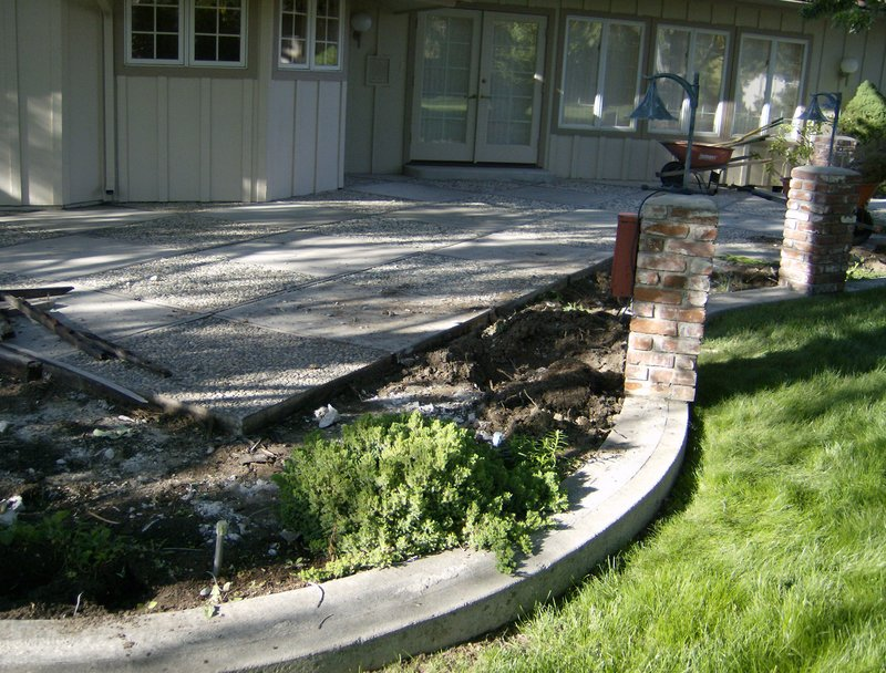 However, With An Old Cement Patio Properly Installed And With It Intact And  Still Serving Its Purpose, A Makeover Can Be Accomplished In One Of Two  Ways, ...