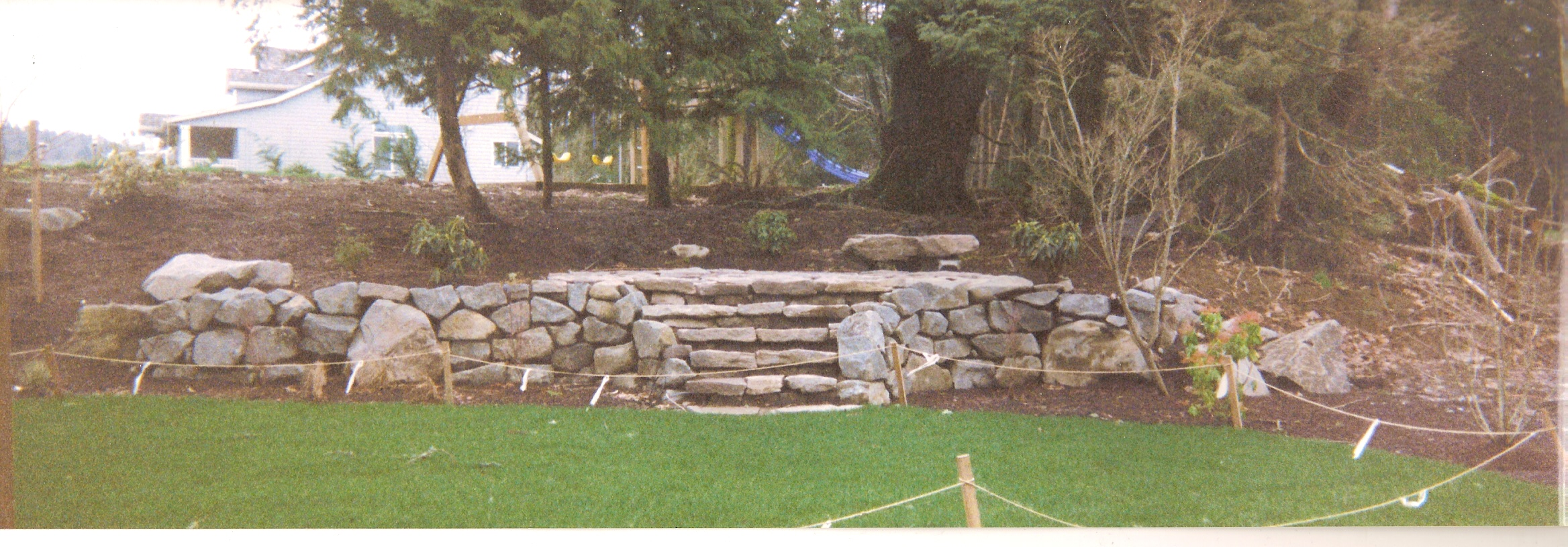 Garden Design With Rocks/Boulders Steve Snedekerus Landscaping And Gardening  Blog With Landscape Backyard From