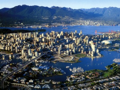 Vancouver_ BC_ Aerial view