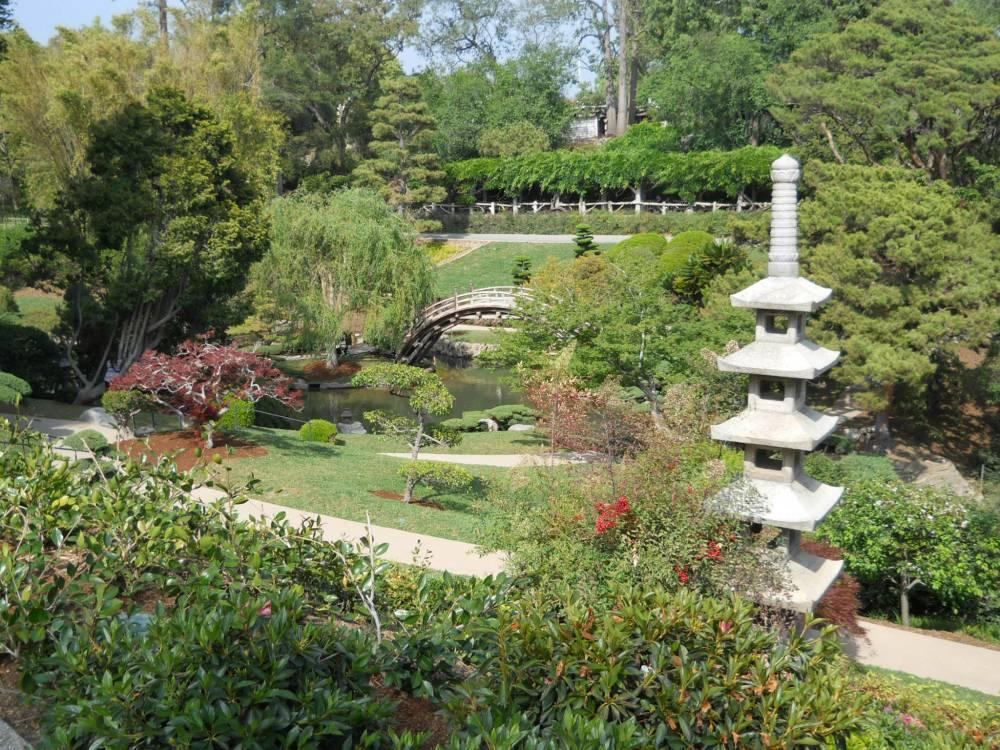 More on the huntington garden steve snedeker s for Japanese garden features